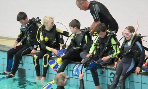 Junior open water