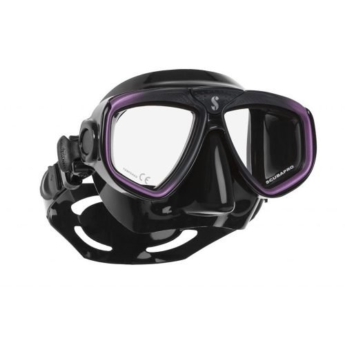 Scubapro-Zoom Evo-Masker-Paars Zwart Zwart-wobbegong-Duiken