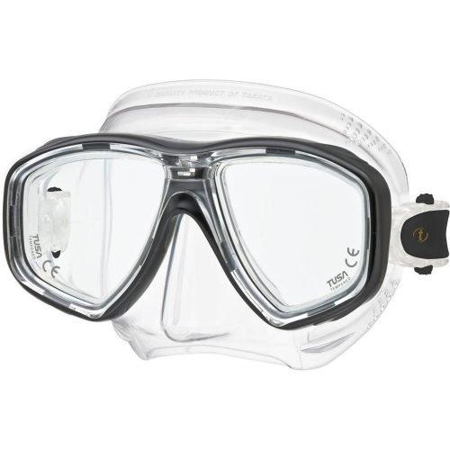 Tusa-Freedom Ceos-masker-M212 BK-wobbegong-duiken