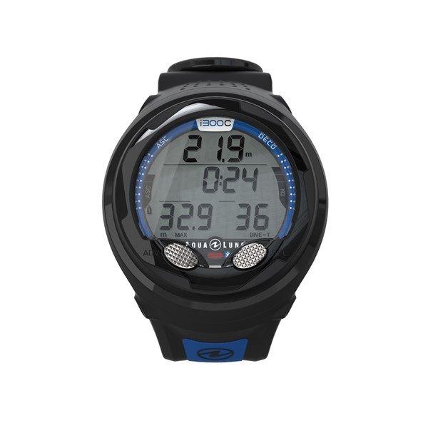 Aqualung-i300C-Duikcomputer-Blauw-wobbegong-Duiken