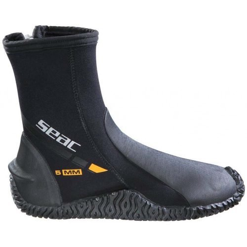 Seac-basic hd-schoenen met rits-boots with zip-5mm-wobbegong-Duiken