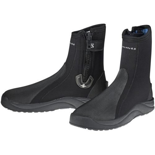 scubapro-heavy-duty-65mm-boots with zip-wobbegong-Duiken