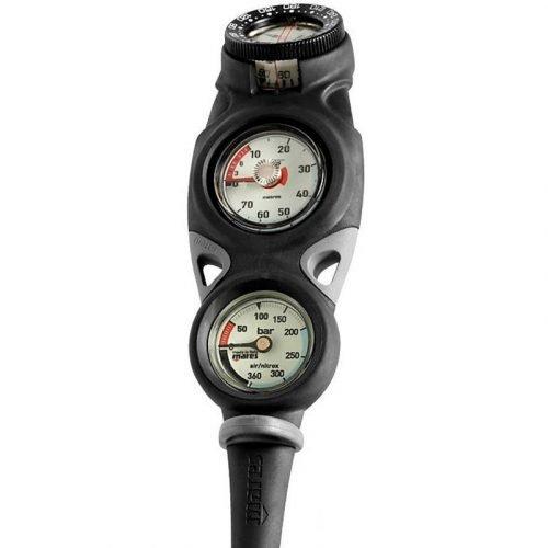 Mares-mission-3-console-manometer-dieptemeter-kompas-wobbegong-Duiken