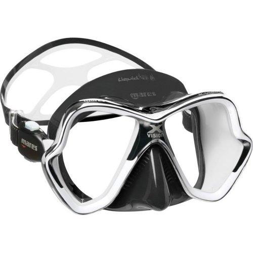 Mares-X vision Chrome Liquidskin-masker-CLWHKWHK-wobbegong-Duiken