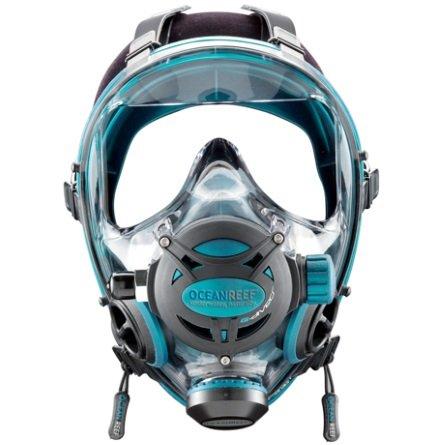 Oceanreef-g diver-volgelaatsmasker-emerald-duiken-wobbegong