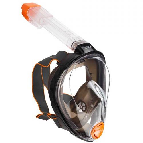 ocean-reef-aria-classic-full-face-snorkelmasker-zwart-duiken-snorkelen-wobbegong