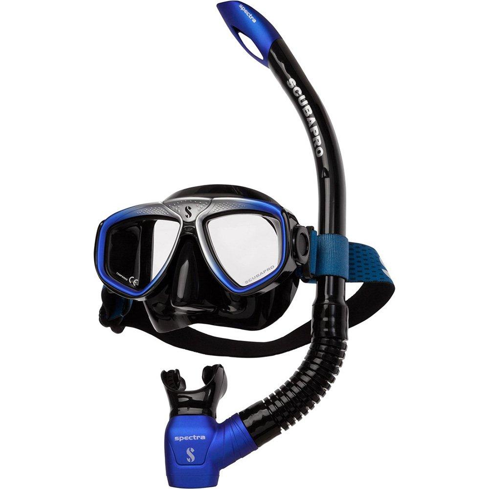 scubapro-zoom-combo-blauw zilver-snorkelset-duiken-wobbegong