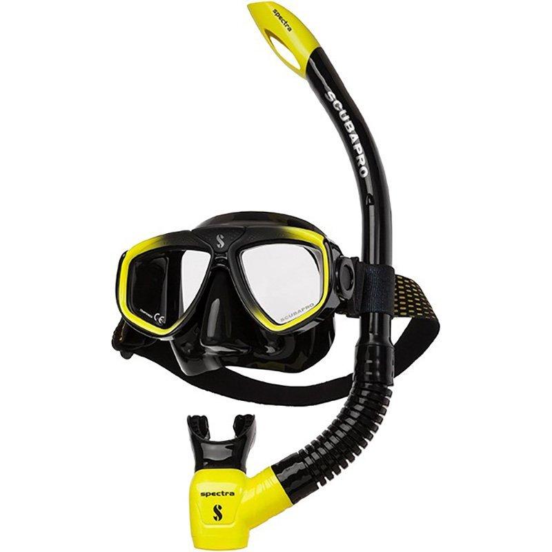 scubapro-zoom-combo-yellow-silver-snorkelset-duiken-wobbegong