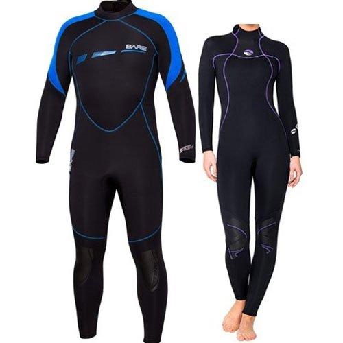 Bare 5 mm Sport S-flex / Nixie Full Wetsuit