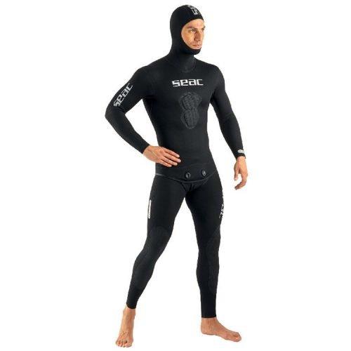 Seac Black Shark Freedive Pak 7 mm Jacket+Pant