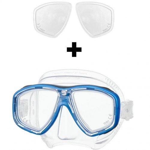 Tusa M212 Duikmasker met Glazen op sterkte