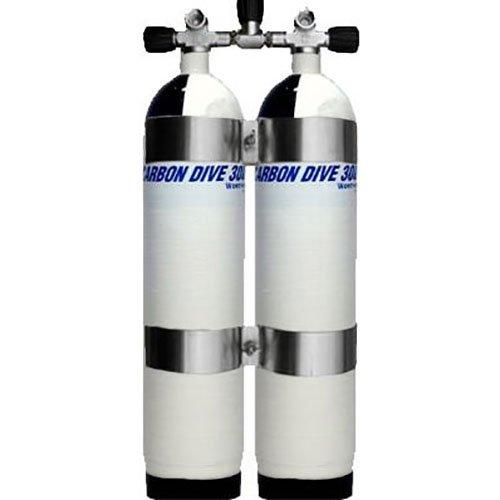 Dubbelset Carbon 6.8L 300 Bar Compleet