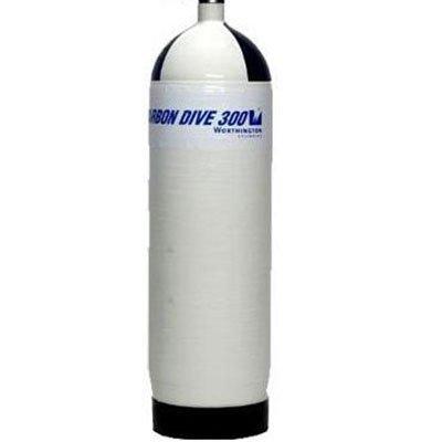 Cilinder Carbon 300 Bar M25x2