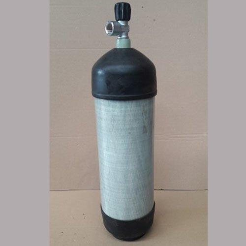 Schietsport tank Carbon met kraan 6.8L 300 bar