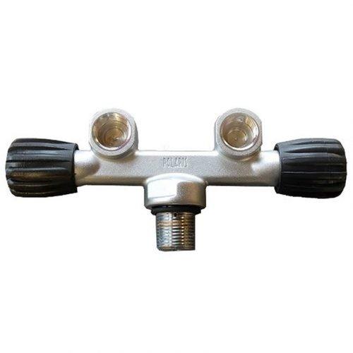 Kraan Dubbel 230 bar M25x2 polaris
