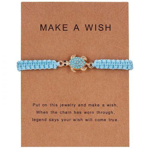 Wobbegong Make a Wish Armband
