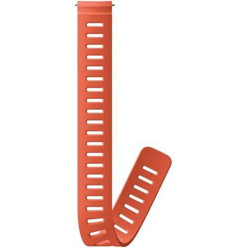 Suunto D5 24mm Silicone Extension Strap Oranje Verlengband