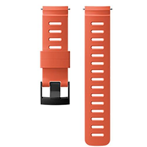 Suunto D5 24mm Dive Silicone Strap Kit Oranje Polsband
